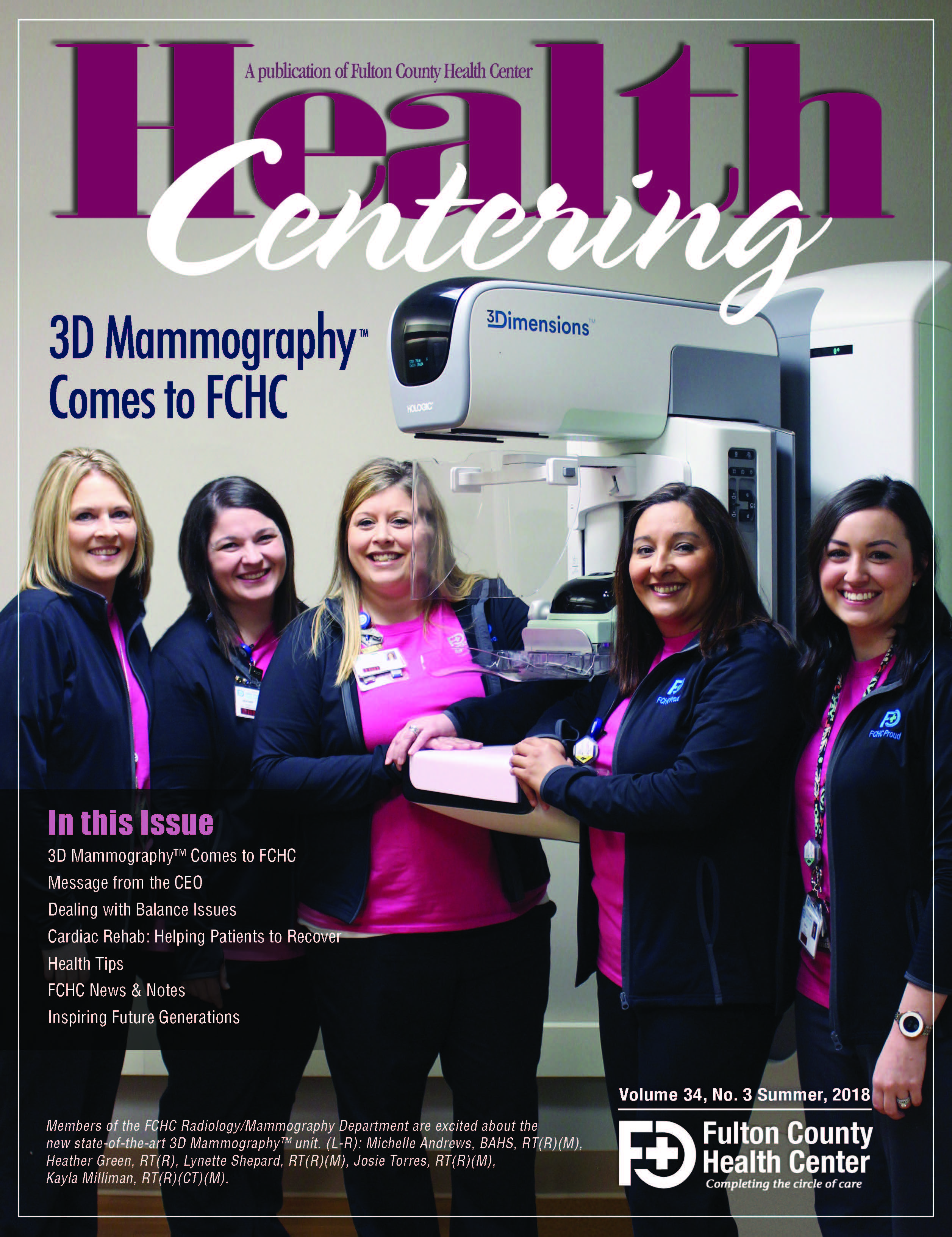 Fulton County Mammography Technology & Cancer Prevention