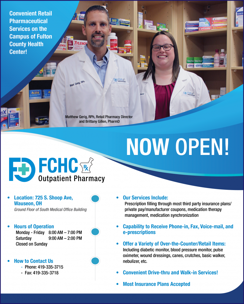 Outpatient Pharmacy Services Fulton County