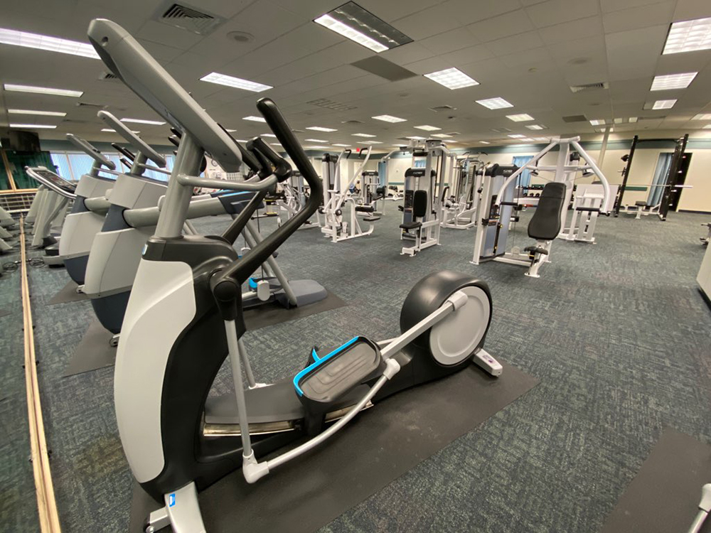 Exercise Equipment At Fulton County's Fitness & Wellness Center